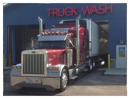 JC Truck tanker washout has 2 bays